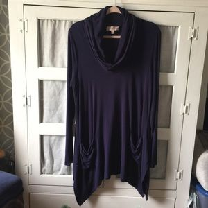 Philosophy Draped Neck Tunic