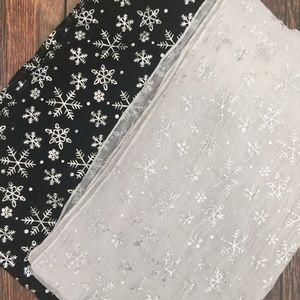 Accessories - Snowflake Scarves - Bundle