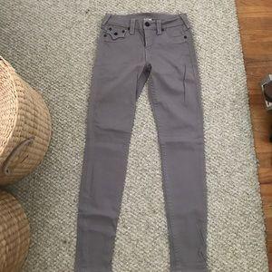 Purple True Religion skinny jeans worn ONCE
