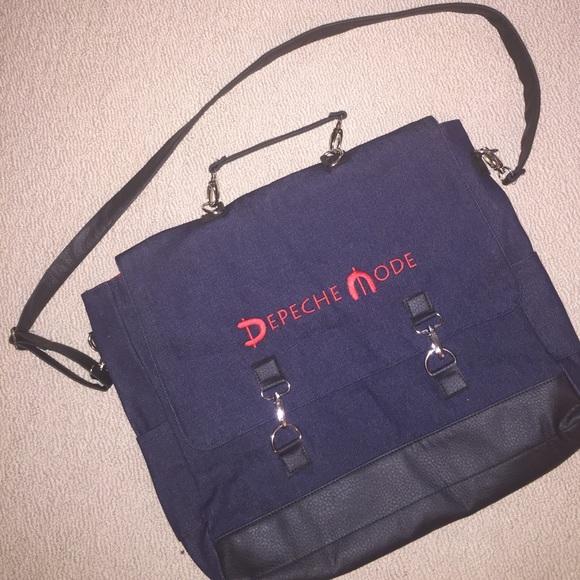 2d7f5c6fbe33 Depeche Mode denim messenger bag NEW