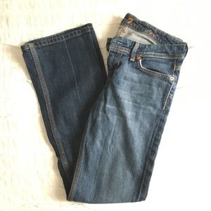 7 for All Mankind bootcut, dark wash size 26