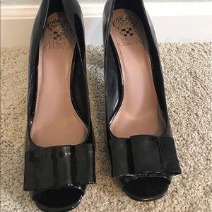 Vince Camuto block heel peep toe - $35 - size 9