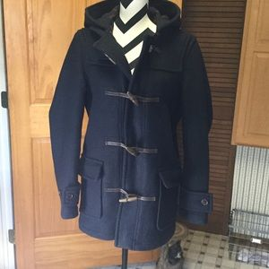 ⚜️Abercrombie & Fitch Peacoat⚜️ GORGEOUS!⚜️Mens-XS