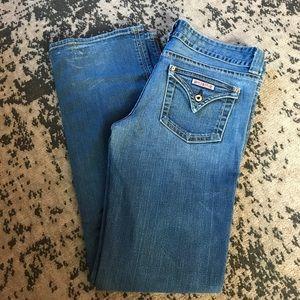 Signature Flap Pocket Bootcut Jeans