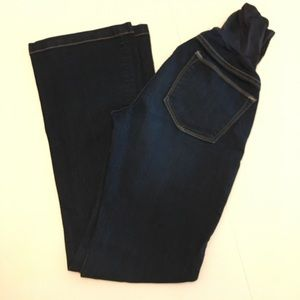 Gap maternity long and lean jeans size 26 / 2