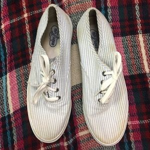 Sperry brand keds like seersucker shoes