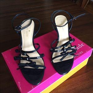 NEW kate spade Blue Patent Elaine Shoes 7 $328