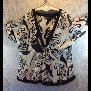 """🔥THE AVENUE """"Sheer Tunic Style """" TOP SZ 22/24"""