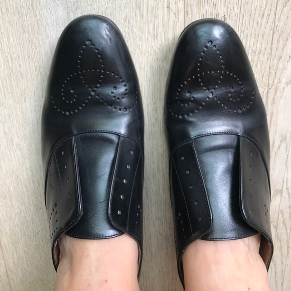 promo code 58b99 142dc Fratelli Rossetti women's leather slip on shoes