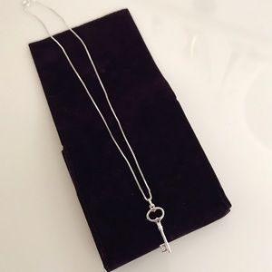 Jewelry - Real Silver Key Necklace