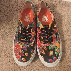 Printed Vans (Bright Colored)