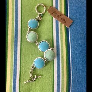 Lucky Brand Blue/Green Bracelet🌷NWT