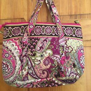 Used Vera Bradley tote bag