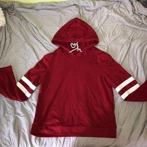 Tops - Red Hoodie