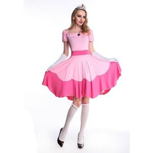 Other - Princess Peach Cosplay Costume Size XL