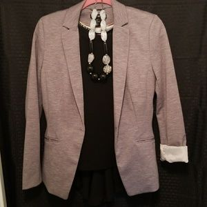 Light Gray Fitted Blazer (fully lined)