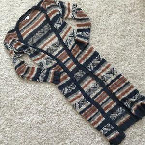 Xhileration longline cardigan