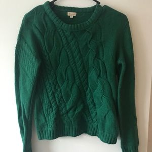 Cremieux Abstract Cable Knit Sweater