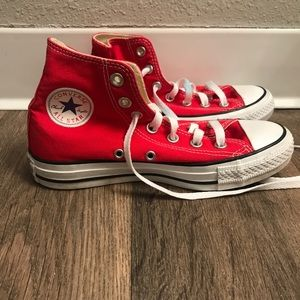 Converse Chuck Taylor All Star Red High Top