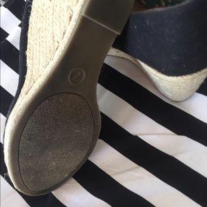 Black wedge Merano Shoes