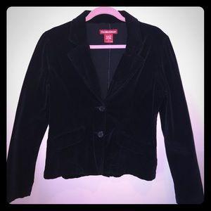 😍RedHot Jean-Velvet Blazer SzL Black.