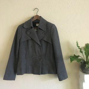 Gray Old Navy Pea Coat