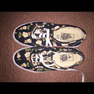 women's 8 hawaiian girl vans