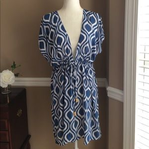 Tybee Island clothing company cover-up, Sz S/M