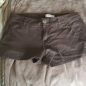 Brown Forever 21 shorts