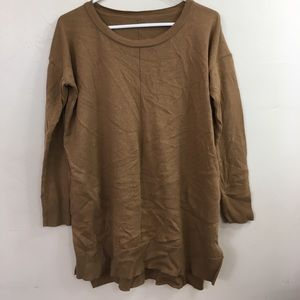Cozy brown sweater