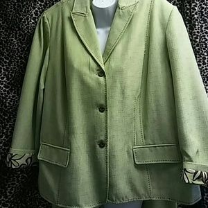 Alfred Dunner. 2 pc pants suit