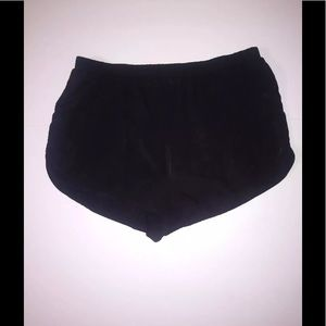 Forever 21 Black Sheer Rayon Style Short Size M