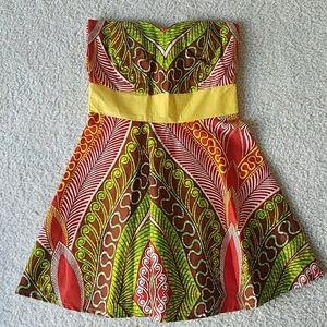 Dresses & Skirts - Handmade African Print Twirl Dress