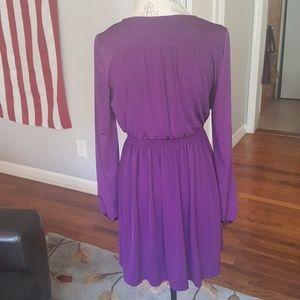 Donna Riocco Royal Purple Dress Size 6