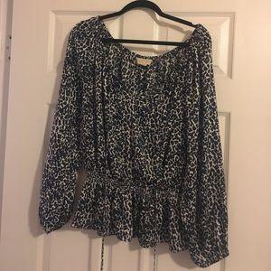 Michael Kors Leopard shirt