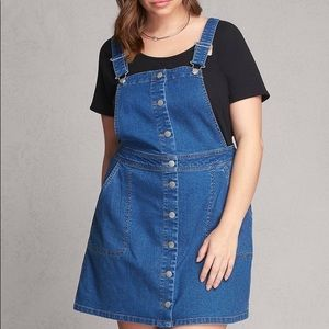 Lovesick Plus Size overall dress