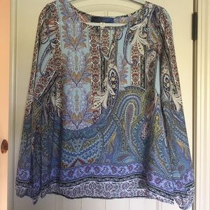 NWOT Blue Rain blouse from Francesca's