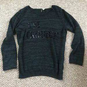 H&M sequin sweater