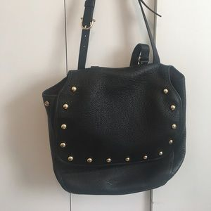 Etienne Aigner studded leather bag