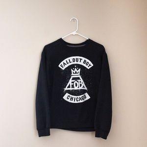 Fall Out Boy crewneck sweater