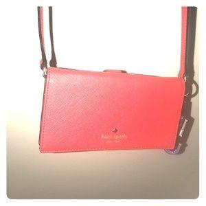 Kate Spade Brand new case wallet over shoulder