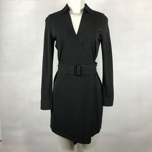 Lauren Ralph Lauren Wrap Dress Sz P/P Long Sleeve