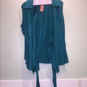 Tops - Wrap blouse