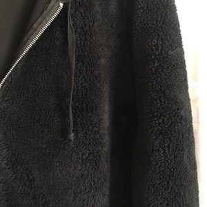 • Black Fluffy Soft Jacket