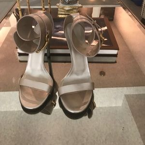"Gucci ""Ursula"" Ankle Strap Sandals"