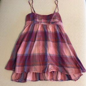☀️SUPER CUTE SUMMER DRESS!☀️SOLID PINK LINER!⭐️