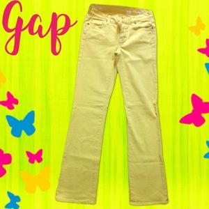 🆕Gap Bright Yellow Jeans