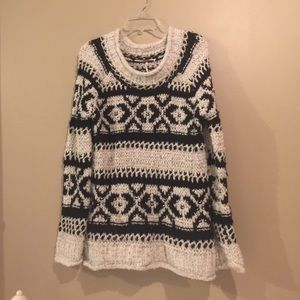 Cozy Free People slouchy knit sweater