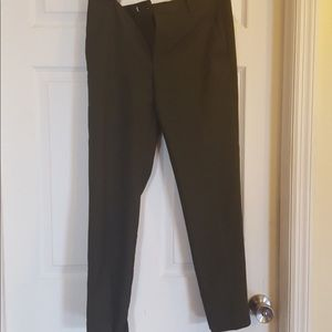 Zara Olive Green Dress Pants - Size M