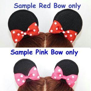 7fc00909368 Mickey Mouse Ears Minnie Mouse Ears hair clip